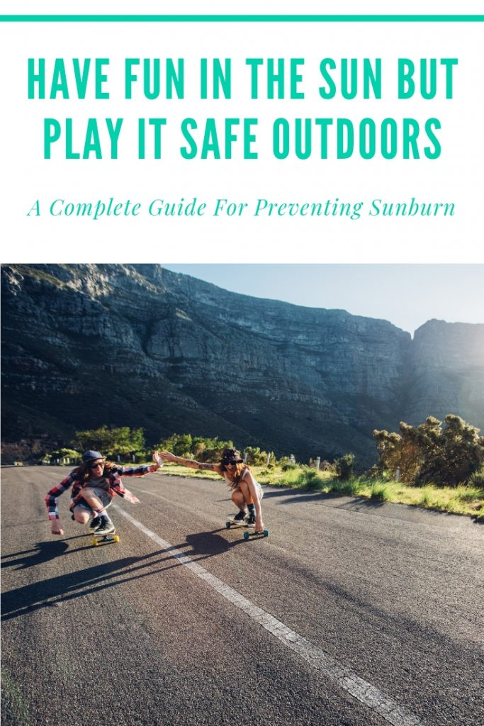 Have Fun in the Sun But Play It Safe Outdoors