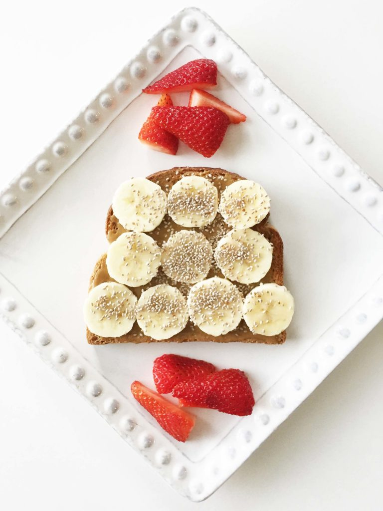 Nut-Butter-and-Banana-Toast